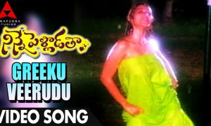 Greeku Veerudu Song Lyrics – Ninne Pelladata Movie Telugu, English